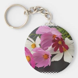 Wildflowers with Edge Keychain