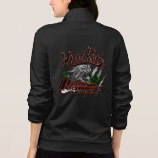 WILDKATS Band 2-sided Women's Fleece Zip Jogger Jacket