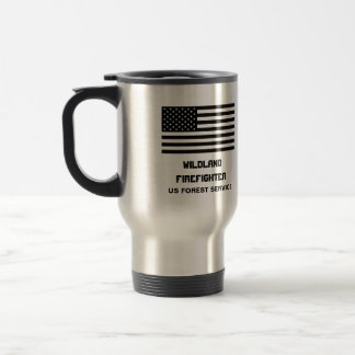 Wildland Firefighter Forest Service Mug