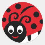 WildLaybug10 Classic Round Sticker