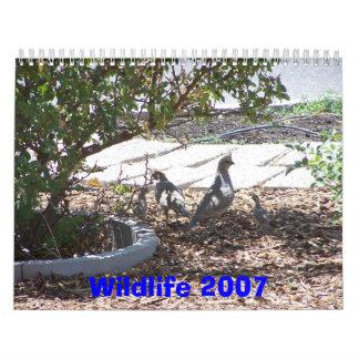 Wildlife 2007 calendar