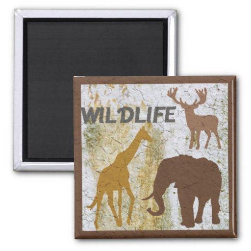 WILDLIFE 2 Magnet Fridge Magnets