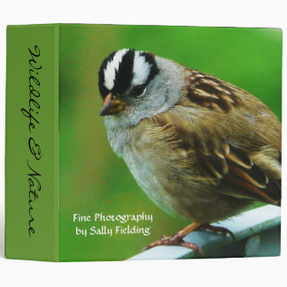 Wildlife and Nature Fine Photography  Album Binder