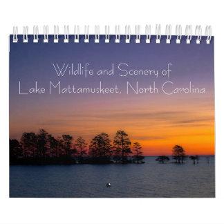 Wildlife and Scenery of Lake Mattamuskeet Calendar