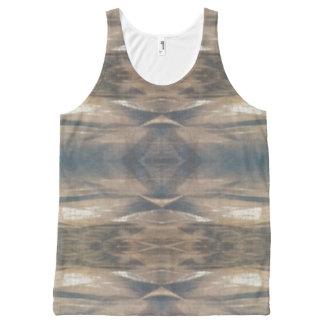 Wildlife Animal pattern, brown, leopard, tank top All-Over Print Tank Top