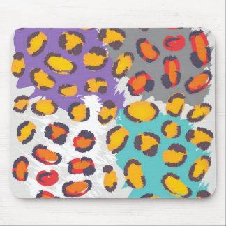 Wildlife animal pattern mouse pad