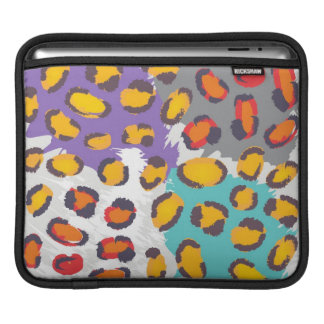 Wildlife animal pattern sleeve for iPads