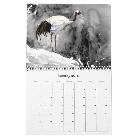 Wildlife Art of Jennifer Miller, 12-Month Calendar