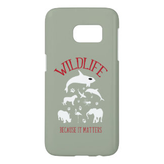Wildlife Because it matters Silhouette iPhone Case