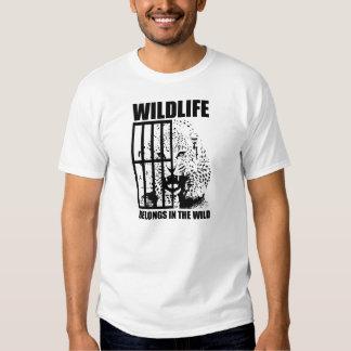 Wildlife Belongs in the Wild Tees