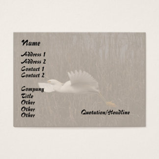 Wildlife Birds Animals Wetlands Photography Business Card