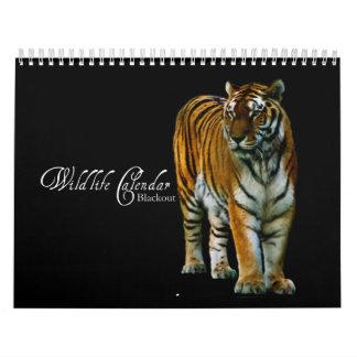 Wildlife Calendar - Blackout