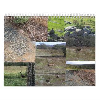 Wildlife Calendar. Calendar