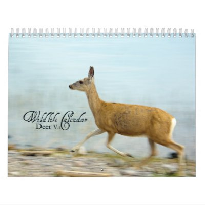 Wildlife Calendar - Deer v.1