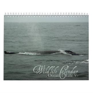 Wildlife Calendar - Ocean Life v.1