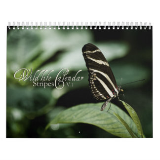 Wildlife Calendar - Stripes v.1