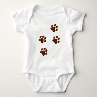 Wildlife Cartoon Trace Baby Bodysuit