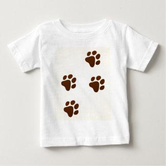 Wildlife Cartoon Trace Baby T-Shirt