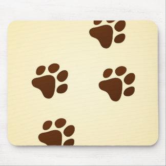 Wildlife Cartoon Trace Mouse Pad