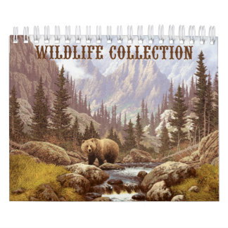 Wildlife Collection Small Calendar