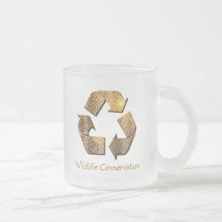 Wildlife Conservation Glass Coffee Mug