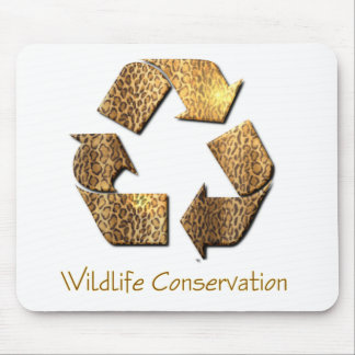 Wildlife Conservation Mouse Pad