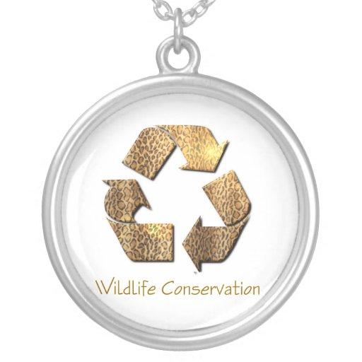 Wildlife Conservation Necklace