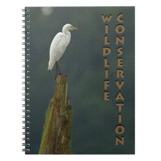 Wildlife Conservation Note Book