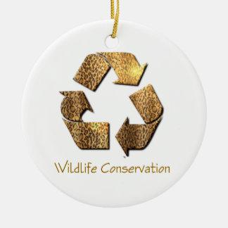 Wildlife Conservation Ornament