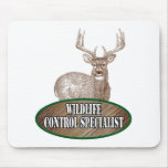 Wildlife Control Specialist Mouse Pad
