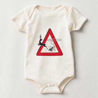 Wildlife crossing Lasso Baby Bodysuit