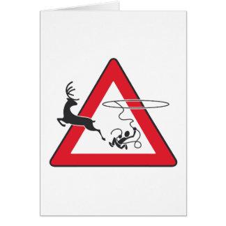 Wildlife crossing Lasso Card