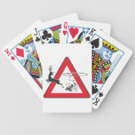 Wildlife crossing Lasso Playing Cards