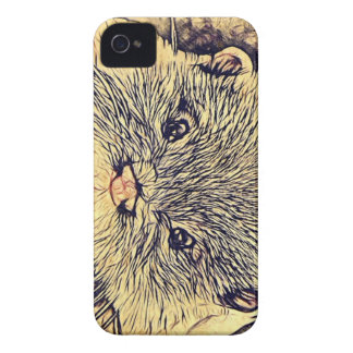 Wildlife Cuddly Cute Sea Animal  baby otter Case-Mate iPhone 4 Case
