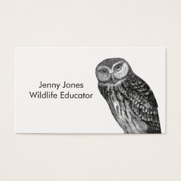 Professional Business Wildlife Educator Business Cards