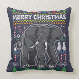 Wildlife Elephant Merry Christmas
