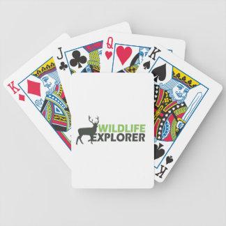 Wildlife Explorer Bicycle Playing Cards