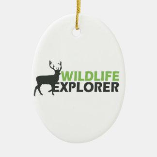 Wildlife Explorer Christmas Tree Ornaments