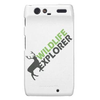 Wildlife Explorer Droid RAZR Case