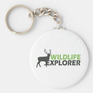 Wildlife Explorer Keychain