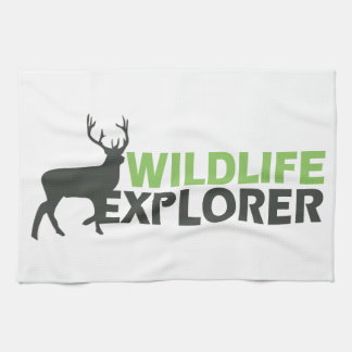 Wildlife Explorer Kitchen Towels