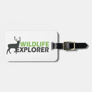 Wildlife Explorer Luggage Tags