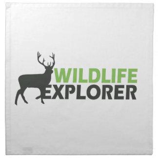 Wildlife Explorer Napkin