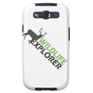 Wildlife Explorer Samsung Galaxy SIII Case