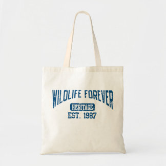 WILDLIFE FOREVER HERTIAGE TOTE BAG