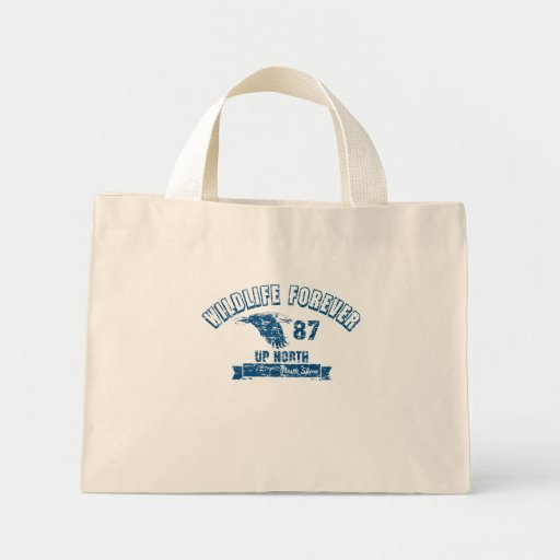 WILDLIFE FOREVER UP NORTH TOTE BAG