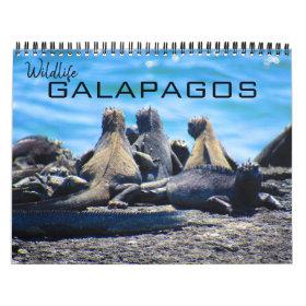 wildlife galapagos 2021 calendar