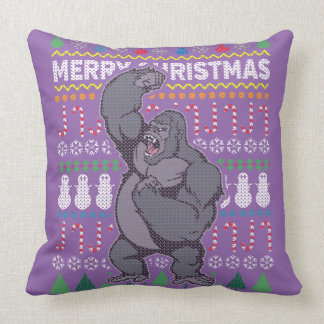 Wildlife Gorilla Merry Christmas