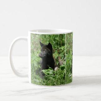 Wildlife Grey Wolf Animal-lover design Coffee Mug