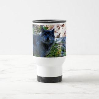 Wildlife Grey Wolf Animal-lover design Travel Mug